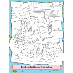 Ma Bible à colorier - L'arche de Noé