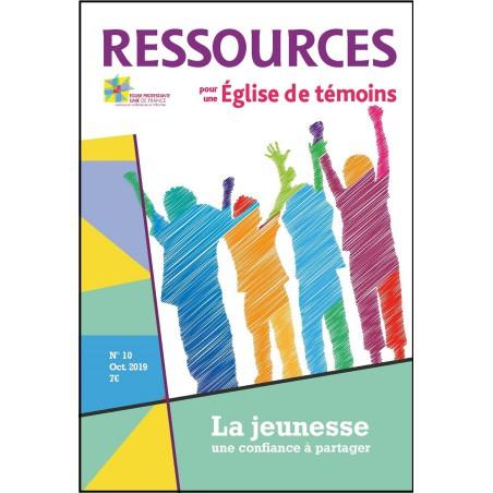 Ressources n° 10 octobre 2019 - La jeunesse, une confiance à partager