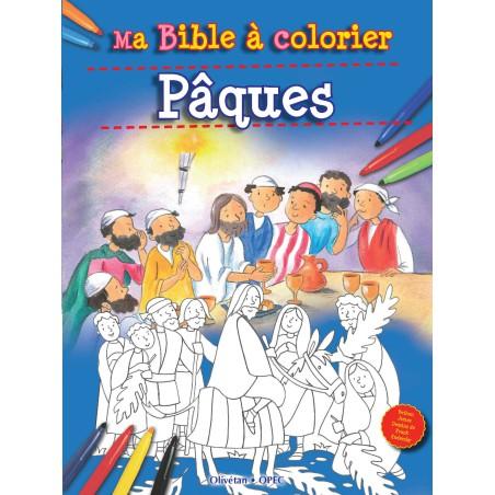 Ma Bible à colorier - Pâques
