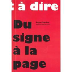 Du signe à la page