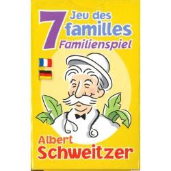 Jeu de 7 familles Albert Schweitzer